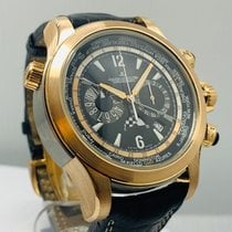 Jaeger-LeCoultre Master Compressor Extreme World Chronograph Rose gold 46mm Black