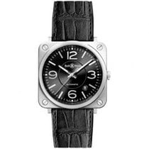 Bell & Ross Steel 39mm Automatic BRS92-BL-ST new United States of America, Pennsylvania, Holland