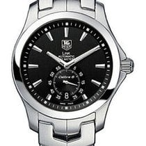 TAG Heuer Link Calibre 6 Steel 39mm Black United States of America, California, Simi Valley