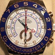 Rolex Yacht-Master II Zeljezo 44mm Bjel Bez brojeva