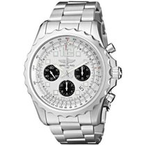 Breitling Chronospace Automatic Stahl 44mm Silber