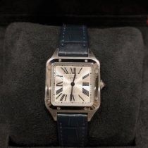 Cartier Santos Dumont new Quartz Watch with original box and original papers WSSA0023