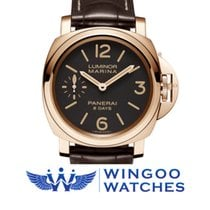 Panerai LUMINOR MARINA 8 DAYS ORO ROSSO 44MM Ref. PAM00511