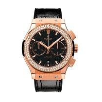 Hublot Classic Fusion 45mm Automatic 18K Rose Gold Mens Watch...