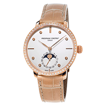 康思登 (Frederique Constant) Manufacture Slimline Moonphase Ladies