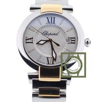 Σοπάρ (Chopard) Imperiale 36mm Steel/Pink Gold Mother Of Pearl...