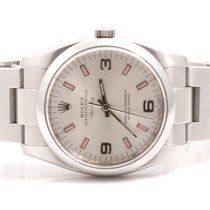 Rolex 34mm Stainless Steel Air-King Ref#114200 Model - Pink...