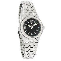 Ebel Etype Ladies Black Dial Stainless Steel Quartz Watch...