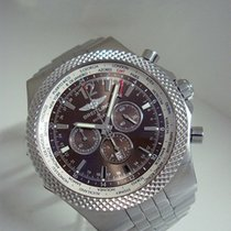 Breitling for Bentley GMT, Stahl/Stahlband