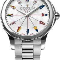 Corum Admiral's Cup (submodel) nuevo Automático Reloj con estuche y documentos originales 400.100.20/V200