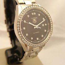TAG Heuer Carrera Lady Steel 27mm Black No numerals