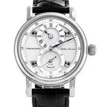 Chronoswiss 40mm Automatic pre-owned Régulateur Silver