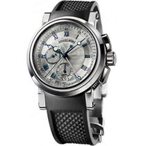 Breguet Chronograph 42mm Automatic 2014 pre-owned Marine Silver