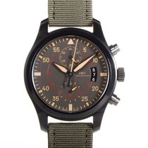 IWC Pilot Chronograph Top Gun Miramar pre-owned Ceramic