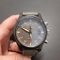 IWC Pilot Chronograph Top Gun Miramar 388002 Ottimo Ceramica Automatico Italia, Torino