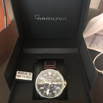 Hamilton 46mm Automatic 2017 new Khaki Pilot Blue
