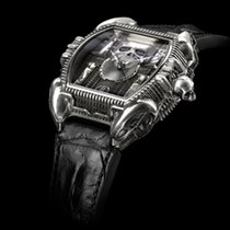 Strom Silver 47mm Automatic IN MEMORIAM HR GIGER new