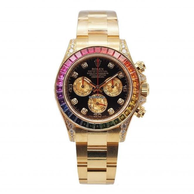 3986da035c6 Buy affordable Rolex Rainbow watches on Chrono24