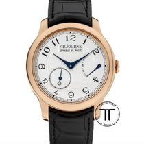 F.P.Journe Souveraine Aur roz 40mm Alb Arabic