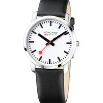 Mondaine Steel 41mm Quartz A638.30350.11SBB new