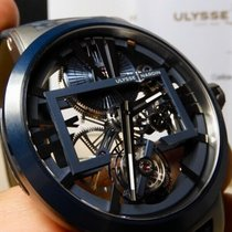 Ulysse Nardin Executive Skeleton Tourbillon new 2010 Manual winding Watch with original box and original papers 1713-139