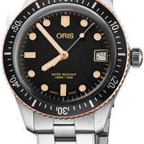 Oris Divers Sixty Five Steel 36mm Black United States of America, California, Moorpark