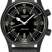 Longines Legend Diver 42mm Black United States of America, New York, Airmont