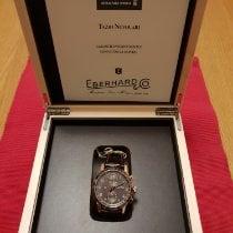 Eberhard & Co. Tazio Nuvolari Red gold 43mm Black Arabic numerals