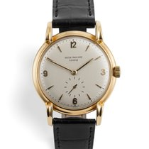 Patek Philippe Calatrava Yellow gold 35.5mm Arabic numerals