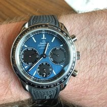Omega Speedmaster Racing Steel 40mm Blue No numerals United States of America, Pennsylvania, Philadelphia