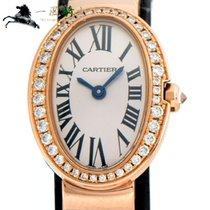 Cartier Baignoire Roségold 25mm Silber