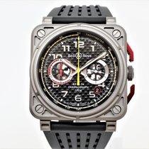 Bell & Ross BR 03-94 Chronographe новые Автоподзавод Хронограф Часы с оригинальными документами и коробкой BR0394-RS18