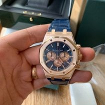Audemars Piguet Royal Oak Chronograph Rose gold 41mm Blue No numerals United States of America, Tennesse, Franklin