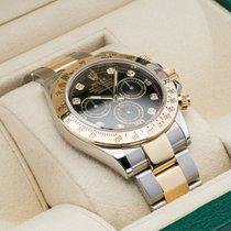 Rolex Daytona Gold/Stahl 40mm Schwarz