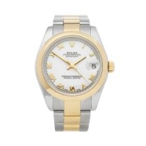 Rolex Lady-Datejust Gold/Steel 31mm White Roman numerals