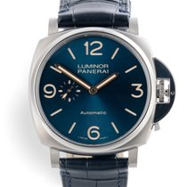 Panerai Luminor Due Titan 45mm Albastru