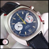 Certina pre-owned Manual winding 42,5mm Blue Plexiglass Not water resistant