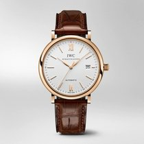 IWC Portofino Automatic Rose gold 40mm Silver Roman numerals United States of America, Iowa, Des Moines
