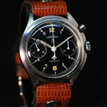 Lemania Steel 40mm Manual winding British RAF Chronograph, Circa 1962 new United States of America, New York, Westchester