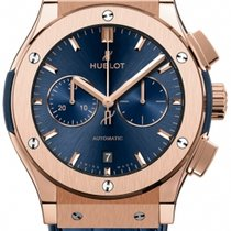 Hublot Classic Fusion Chronograph Rose gold 42mm Blue United States of America, New York, NEW YORK