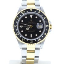 Rolex GMT-Master II 16713 Gold/Steel 40mm Automatic