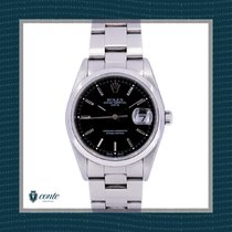Rolex Oyster Perpetual Date Acero 34mm Blanco Sin cifras