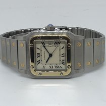 Cartier Santos (submodel) Very good Gold/Steel Automatic