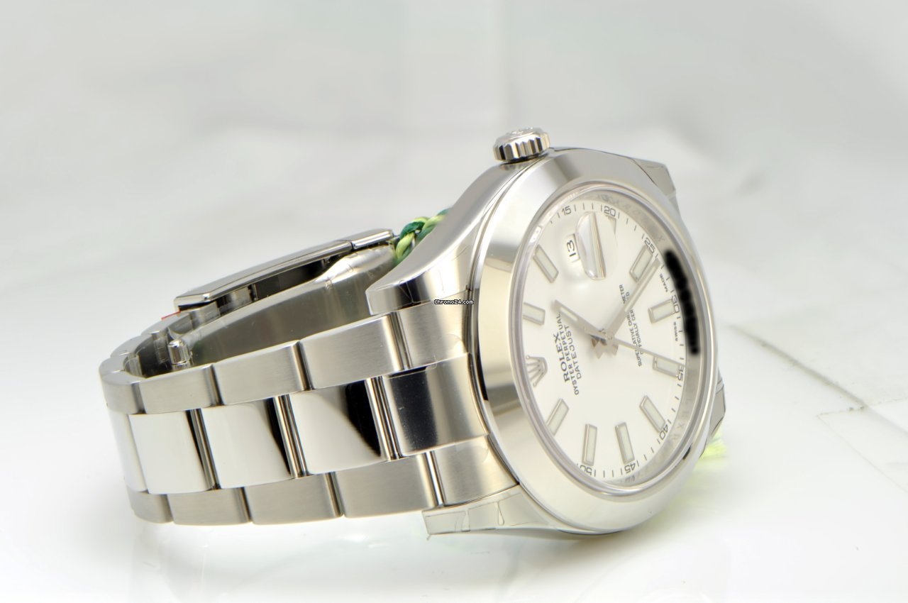 cedce23ef97 Rolex DateJust II   White Dial   Stainless Steel Domed Bezel for Price on  request for sale from a Trusted Seller on Chrono24