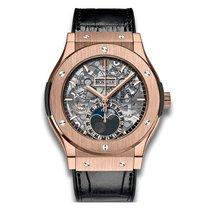 Hublot Classic Fusion 45mm Automatic Titanium Mens Watch...