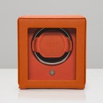 WOLF Cub with cover single watch winder Orange