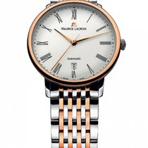 Maurice Lacroix Les Classiques Tradition Staal 38mm Wit Romeins