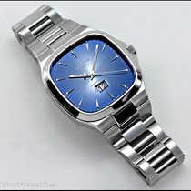 Glashütte Original Seventies Panorama Date 2-39-47-13-12-14 Glashutte Vintage Panorama Quadrante Blu new