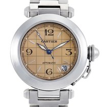 Cartier Pasha Unisex Automatic Stainless Steel Watch W31024M7