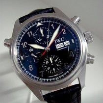 IWC Doppelchronograph Ref. IW3718, Stahl